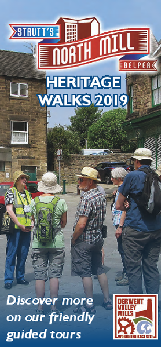 Strutt's North Mill Heritage Walks 2019