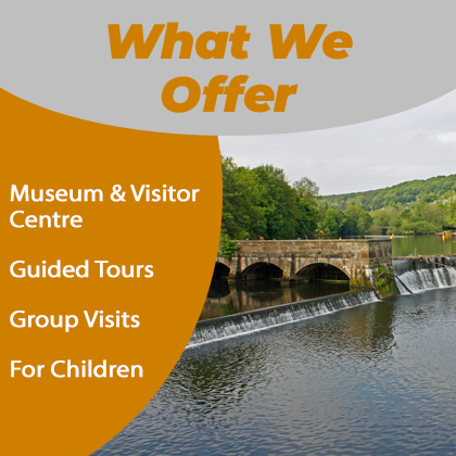 What we offer at Strutt's North Mill Museum - Belper
