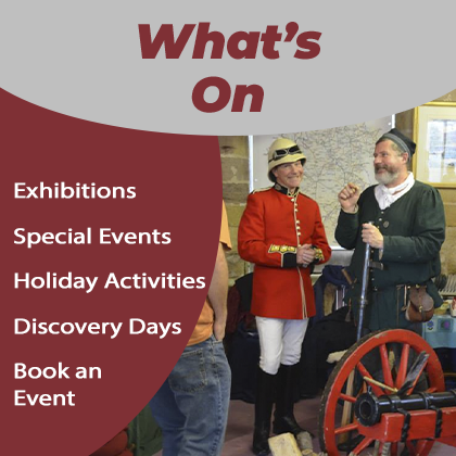 Events at Strutt's North Mill Belper